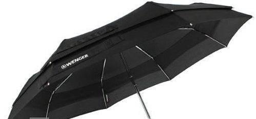 Универсальный зонт, полный автомат Wenger W1000-black (черный)