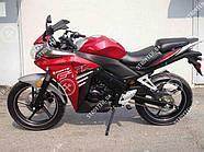 Мотоцикл FORTE FTR300 (красный) , фото 4