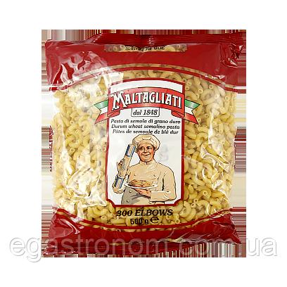 Макарони Малтагліаті ріжки малі Maltagliati 300 elbows 500g 24шт/ящ (Код : 00-00005948)