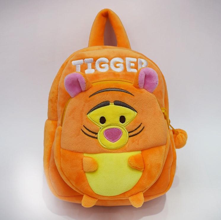 """Плюшевий рюкзак в садок для дівчинки і хлопчика 1-3 року """"Тигра"""""""