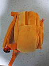 """Плюшевий рюкзак в садок для дівчинки і хлопчика 1-3 року """"Тигра"""", фото 5"""