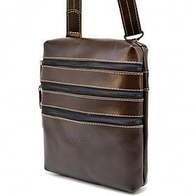 Мужская сумка на плечо GX-1034-3mdL из кожи Алькор