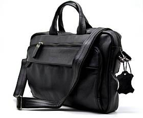 Деловая сумка-портфель для ноутбука GA-7334-1md TARWA, из натуральной кожи