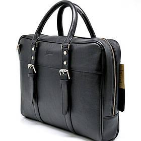 Деловая сумка с ручками TA-4764-4lx TARWA, из натуральной телячьей кожи