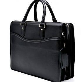 Деловая кожанная мужская сумка-портфель TA-4364-4lx TARWA