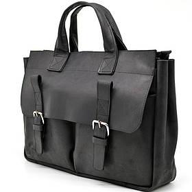 Мужская кожаная сумка RA-7107-1md TARWA, выделки crazy horse