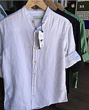 Рубашка мужская 100%лён О Д