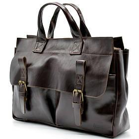 Мужская кожаная сумка для документов GX-7107-3md TARWA