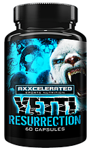 Axxcelerated Sport Nutrition Yetti Resurrection