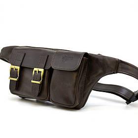 Напоясная сумка из натуральной кожи TC-3029-4lx TARWA