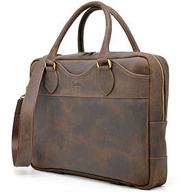 Деловая мужская сумка из натуральной кожи Crazy Horse RC-8839-4lx TARWA