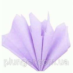 Папірусний папір для пакування кондитерських виробів, 50*65 см,10 листків Бузковий