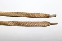 Шнурки плоские (чехол) 10мм. т.беж