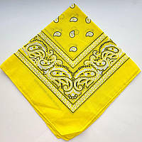 Жіноча хустка (жовта)
