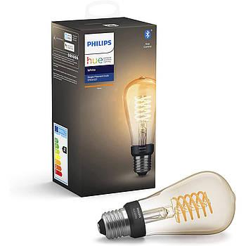 Philips Hue White Retro Edison ST64 E27 7 W Bluetooth Apple HomeKit