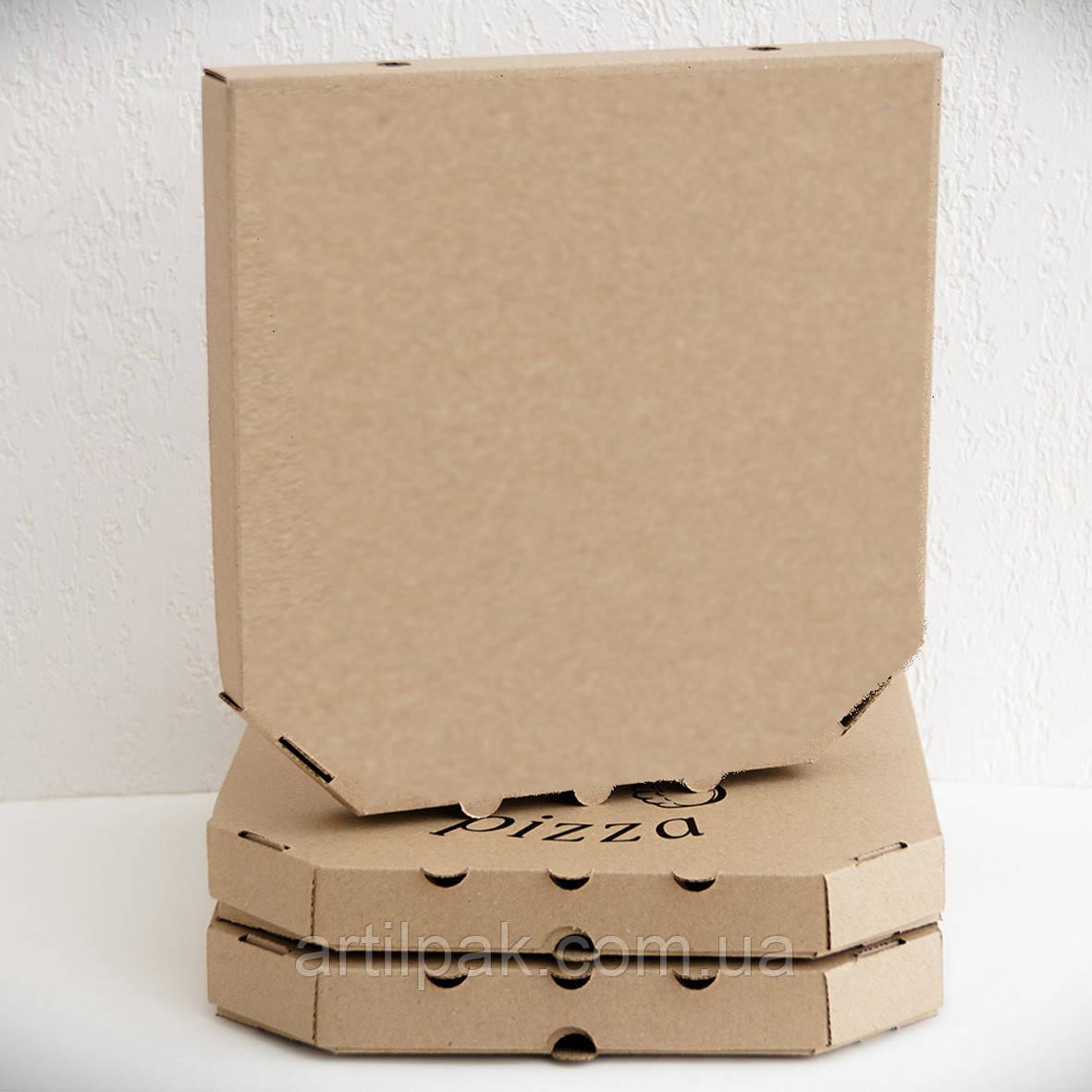 Коробка для піци та хачапурі 450*450*40 БУРА