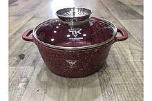 Кастрюля Top Kitchen (бордо 28 см) TК00053 4