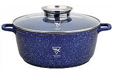 Кастрюля Top Kitchen (синяя 28 см) TК00053 4