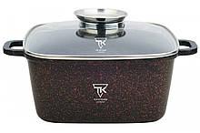 Каструля Top Kitchen (чорна в червону крапку 28 см) ТК00056 4