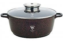 Каструля Top Kitchen (чорна в червону крапку) ТК00051