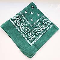 Жіноча хустка (зелена)