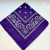 Жіноча хустка (фіолетова)