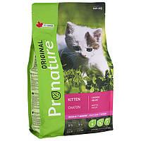 Pronature Original Kitten Chicken Пронатюр оріджінал КУРКА корм для кошенят