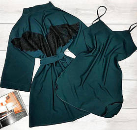 Комплекты халат и сорочка
