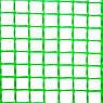 Сетка вольерная для птиц черная, ячейка 22мм x 35мм, рулон 1м x 50м, фото 3