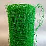 Сітка вольерная для птахів зелена 12х14мм рулон 1м x 50м, фото 2