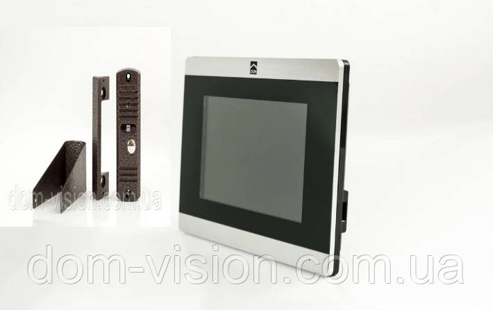 Відеодомофон DOM DS-7TS + панель виклику DOM CS01