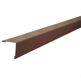 Кут зовнішній для профнастилу 20*20 2м 8017 (коричневий)