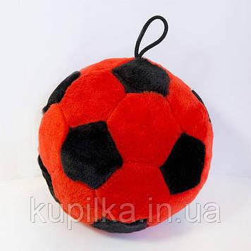 Мягкая игрушка Zolushka Мячик 21см красно-черный (ZL1306)