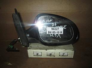 №227 Б/у Дзеркало бокове праве для VW Passat B6 2005-2010