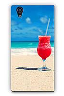 Чехол  для Lenovo P70 (Пляж)