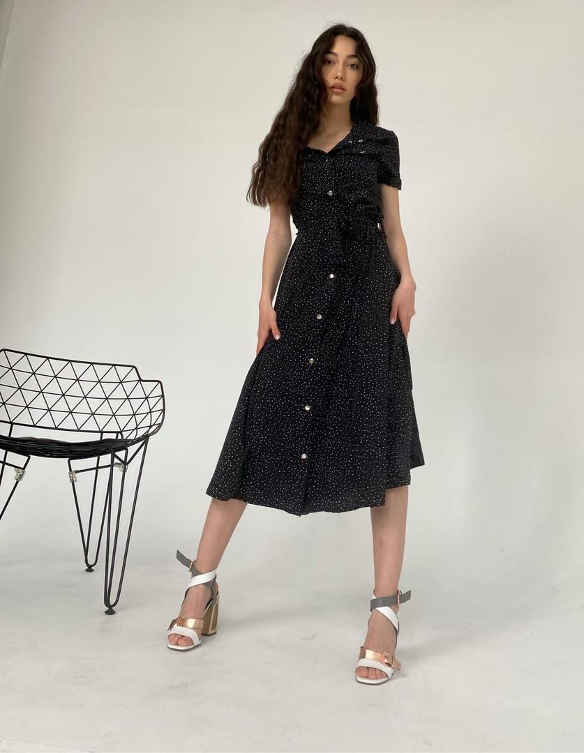 Літнє жіноче плаття «Кнопки»