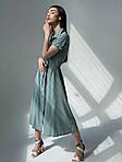 Літнє жіноче плаття «Кнопки», фото 2
