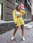 Женский плюшевый костюм тройка с шортами и топом, фото 8
