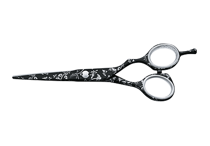 Ножницы для стрижки Jaguar Gold Line Diamonde Night  5