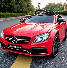Детский электромобиль Bami M 4010EBLR-3  Mercedes С 63 AMG  красный