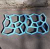 Форма для садової доріжки. Трафарет для садової доріжки. Пластикові форми для лиття з бетону доріжок