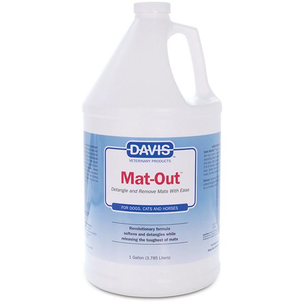Davis Mat-Out ДЭВИС МЭТ-АУТ средство против колтунов для собак и котов, спрей