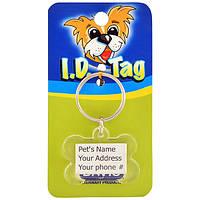 Davis Bone ID Tag ДЕВІС брелок адреснік на нашийник для собак
