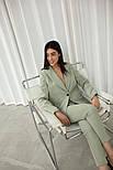 Стильный костюм женский молодежный с брюками, фото 2