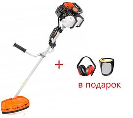 Бензокосилка, триммер, косилка SCHWARTZMANN KD-035 + наушники и защитная маска в подарок