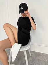 """Женская кепка со стразами """"LA"""""""