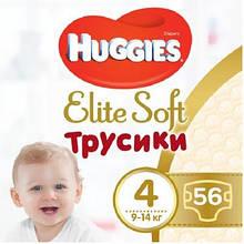 Подгузник Huggies Elite Soft Pants L размер 4 (9-14 кг) Giga 56 шт (5029053548340)