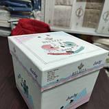 Постельное белье в кроватку для девочки. Пакунок малюка.В подарочной упаковке!, фото 4