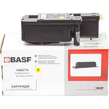 Тонер-картридж BASF Xerox Ph 6020/6022/WC6025/6027 Yellow 106R02758 (KT-106R02758)