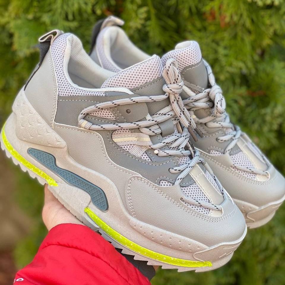 Кросівки літні жіночі сітка на платформі